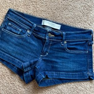 ❤️2/$25 Abercrombie & Fitch denim shorts